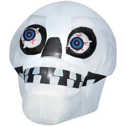 4.5' Airblown® Skull With Eyes Animated Prop at Kmart.com