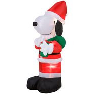 3.5' Snoopy Airblown Christmas Decoration at Kmart.com