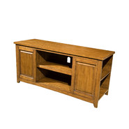 Emerald Home 48 In. TV Console - Oak at Kmart.com