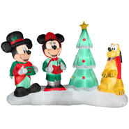 Disney Lightshow Mickey Choiring Airblown Christmas Decoration at Kmart.com