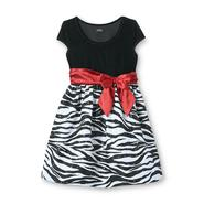 Holiday Editions Girl's Taffeta & Velvet Dress - Animal Print at Kmart.com