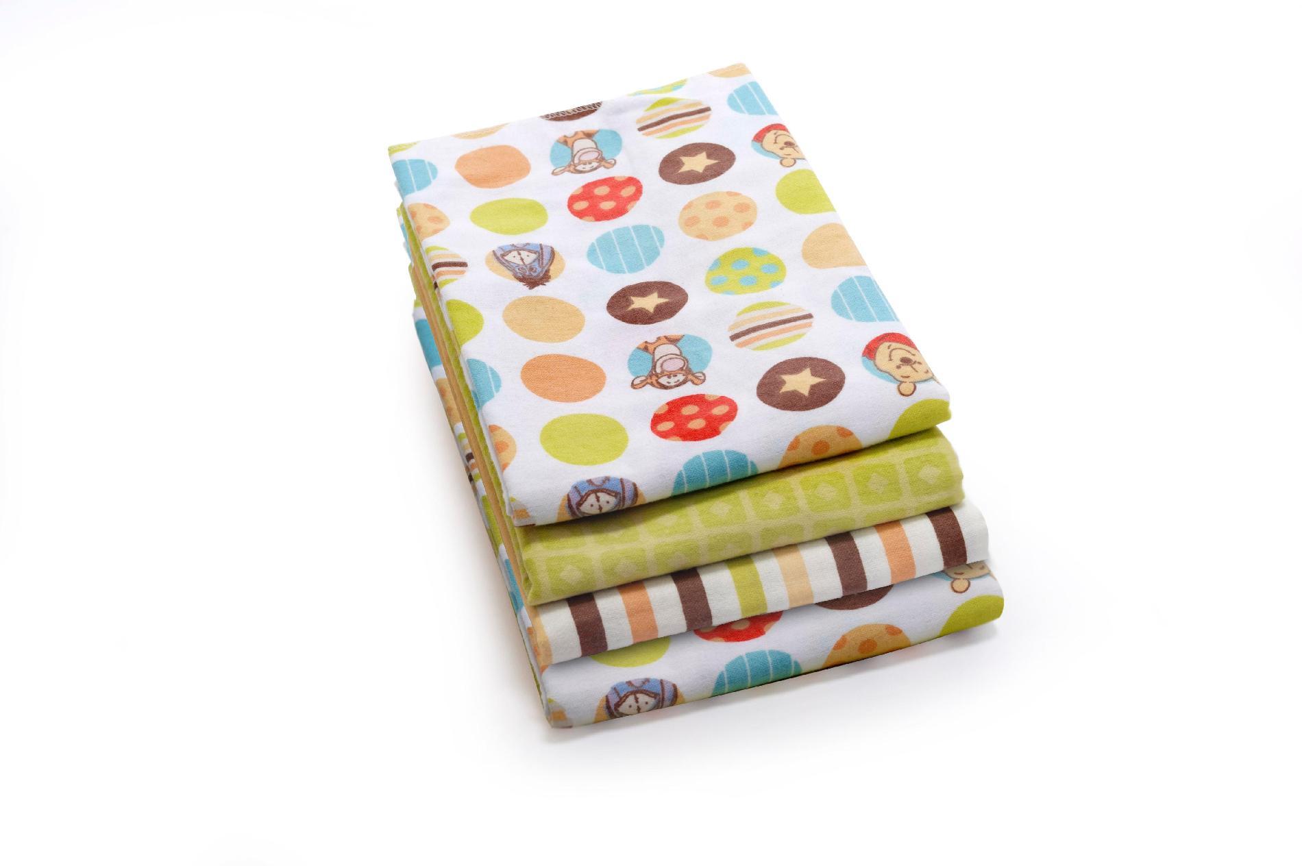 Disney 4-Pack Receiving Blankets