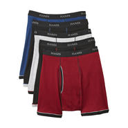 Hanes 5-Pack Men's Ringer Style Boxer Briefs at Sears.com