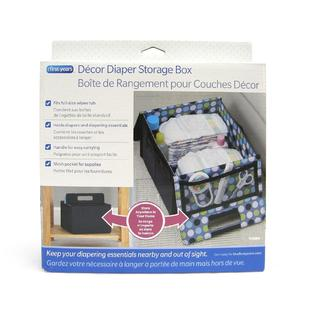 Tomy The First Years Diaper Storage Box