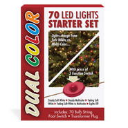 National Tree Company 70 Bulb Dual Color LED Light String STARTER SET at Kmart.com