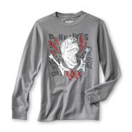 Basic Editions Boy's Graphic Thermal Shirt - Dinosaurs & Guitars at Kmart.com