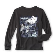 Basic Editions Boy's Graphic Thermal Shirt - Snow Sports at Kmart.com