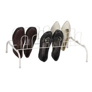 Household Essentials 9 Pair Wire Shoe Rack,  White finish at Kmart.com