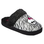 Character Girl's Slipper Scuffy - Black at Sears.com