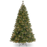 National Tree Company 7.5 ft. Atlanta Spruce Tree with Clear Lights at Kmart.com