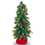 "National Tree Company 24"" Downswept Forestree with Clear Lights at Kmart.com"