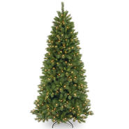 National Tree Company 7.5 ft. Lehigh Valley Pine Tree with Clear Lights at Kmart.com