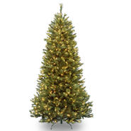 National Tree Company 7.5 ft. Rocky Ridge Sliim Pine Tree with Clear Lights at Kmart.com