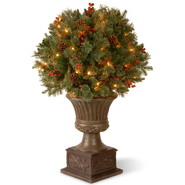 National Tree Company 3' Gladstone Pine Porch Bush with 70 Clear lights at Kmart.com