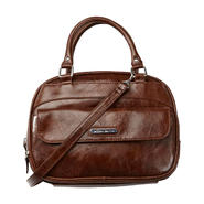 Jaclyn Smith Women's Lady Organizer Satchel - Faux Leather at Kmart.com
