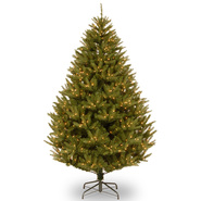 7.5 ft. FEEL-REAL® California Cedar Tree with Clear Lights at Kmart.com