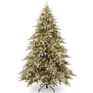 National Tree Company 7.5 ft. Snowy Concolor Fir Tree with Clear Lights at Sears.com