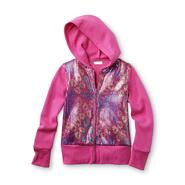 Piper Girl's Embellished Hoodie Jacket - Neon Cheetah Print at Kmart.com
