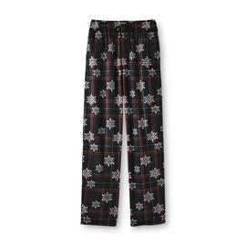 Joe Boxer Men's Microfleece Pajama Pants - Plaid & Snowflakes at Kmart.com