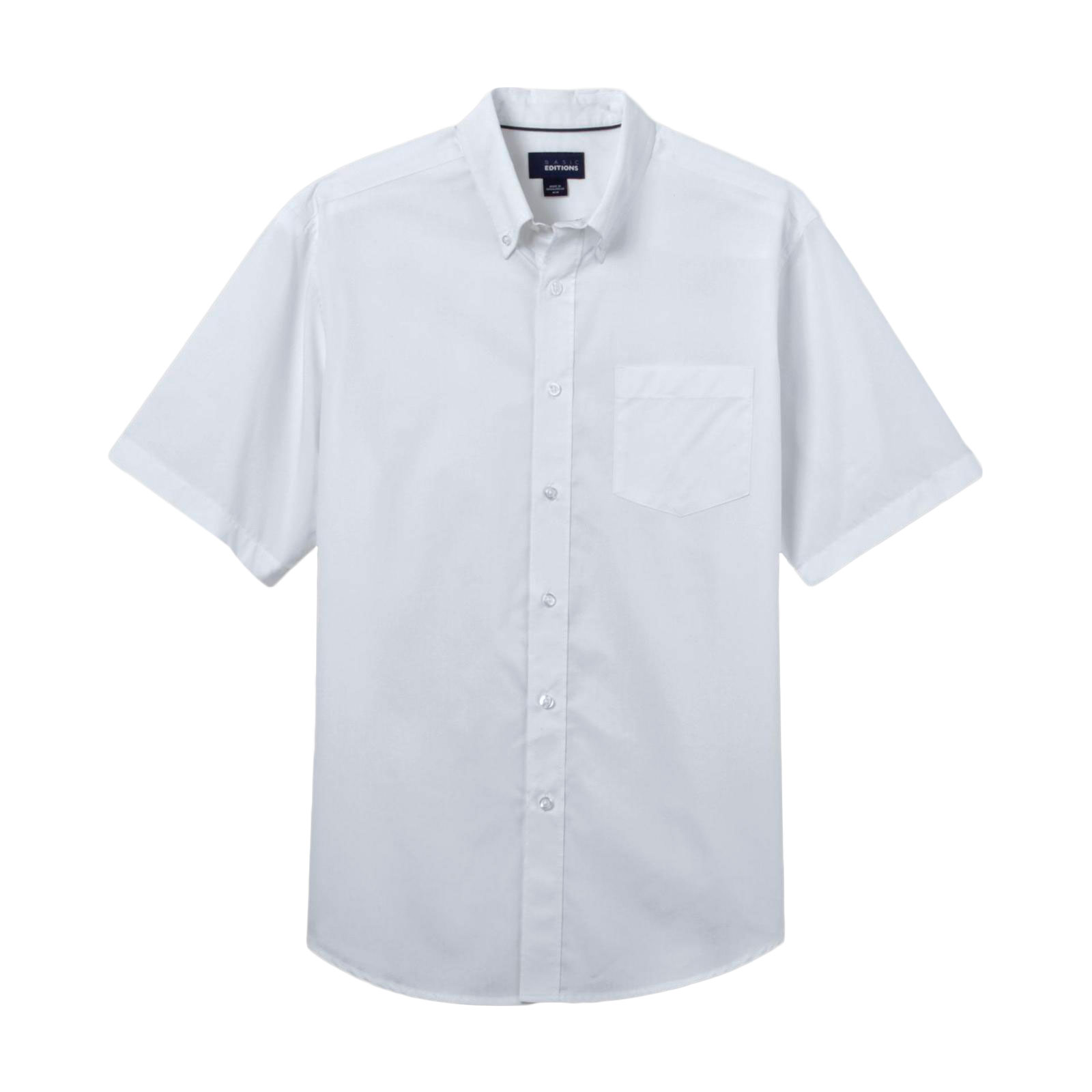 Basic Editions Men's Big & Tall Easy Care Woven Shirt at Kmart.com