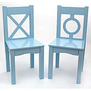 Lipper International Child's  S/2 Chair-Light Blue at Kmart.com