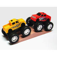 Just Kidz 2 Pk. Monster Trucks - Yellow & Red at Kmart.com