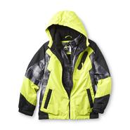 Athletech Boy's Hooded Winter Coat - Fleece Lining at Sears.com
