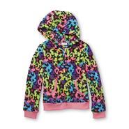 Piper Girl's Fleece Hoodie Jacket - Mixed Print at Kmart.com