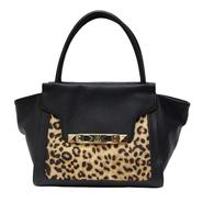 Kardashian Kollection Women's Trapezoid Tote - Leopard Print at Sears.com