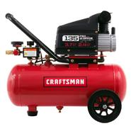 Craftsman 7 Gallon Portable Horizontal Air Compressor with Hose and Accessory Kit at Kmart.com