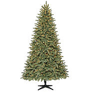 7.5' 600 Clear Light Pre-lit Geneva Pine Christmas Tree at Kmart.com