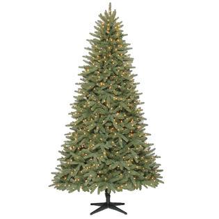 Donner and Blitzen 7.5' Pre-Lit Geneva Pine Tree