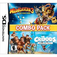 D3P Madagascar 3 and  the Croods Combo Pack Nintendo DS at Kmart.com