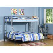 DHP Twin Full Bunk Bed Silver at Kmart.com