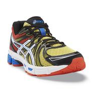 Asics Men's Gel-Exalt Black/Red/Yellow Running Shoes at Sears.com