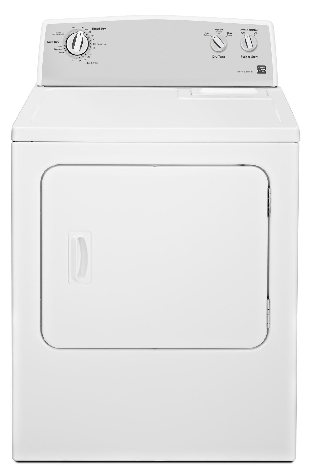 7.0 cu. ft. Electric Dryer w/ Auto Dry -