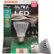 Sylvania LED Dimmable Lamp PAR20-Medium Base, 120V Light Bulb 8W Equivalent 35W - Single Bulb