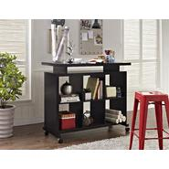 Altra Standing Multipurpose Desk with Shelves - Espresso at Kmart.com