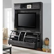 Altra Essex Home Entertainment Center with Metal Sides - Espresso & Black at Kmart.com