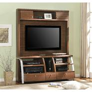 Altra Essex Home Entertainment Center with Metal Sides - Walnut at Kmart.com