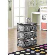 Altra 3-Bin Storage End Table - Zebra at Kmart.com