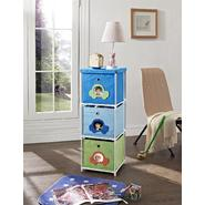 Altra Kids' 3-Bin Storage Unit, Blue with Car Theme at Sears.com
