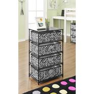 Altra 4-Bin Storage End Table - Zebra at Kmart.com