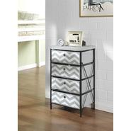 Altra 4-bin Storage System - Gray/White Chevron at Kmart.com
