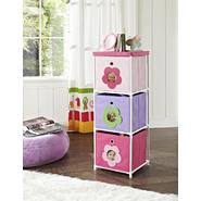 Altra Kids' 3-Bin Storage Unit, Pink with Flower Theme at Sears.com