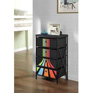 Altra 4-bin Storage System, Black with Stripes at Kmart.com