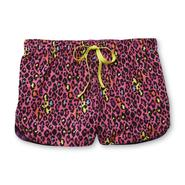 Joe Boxer Women's Printed Woven Lounge Shorts - Neon Animal Print at Kmart.com