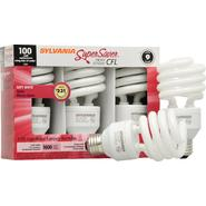 Sylvania Super Saver CFL Light Bulbs, Energy Efficient, Soft White, 3 bulbs at Kmart.com