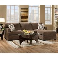 Beautyrest Chicklet Java Sectional at Sears.com