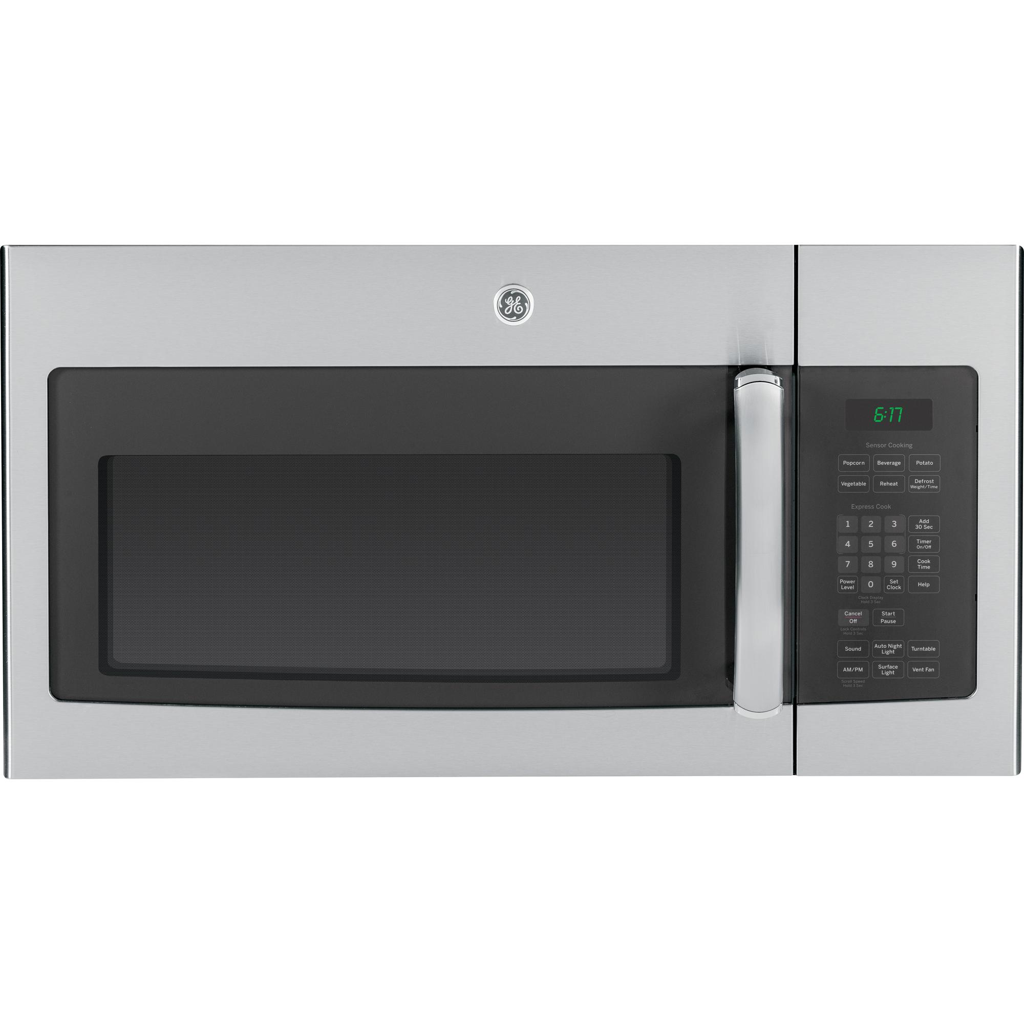 Ge Appliances Jvm6175sfss 1 7 Cu Ft Over The Range